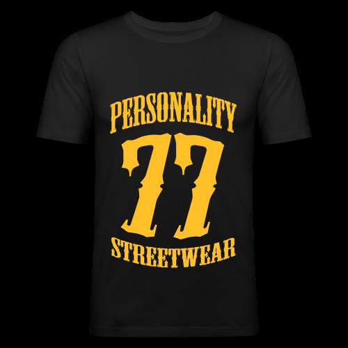 Personality Streetwear - Männer Slim Fit T-Shirt
