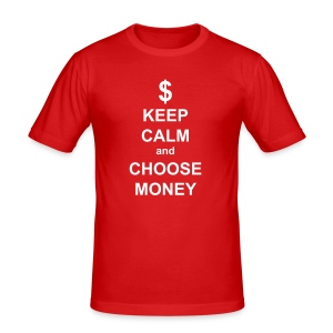 ...Choose Money - Tee shirt près du corps Homme
