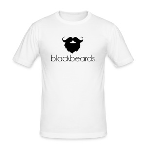 "blackbeards ""whitefit"" - Männer Slim Fit T-Shirt"