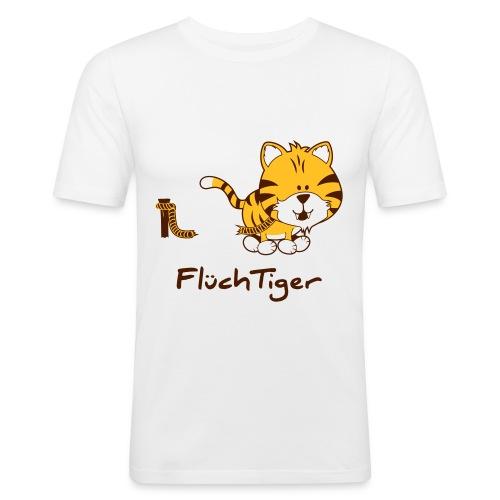 FlüchTiger T-Shirt Männer - Männer Slim Fit T-Shirt