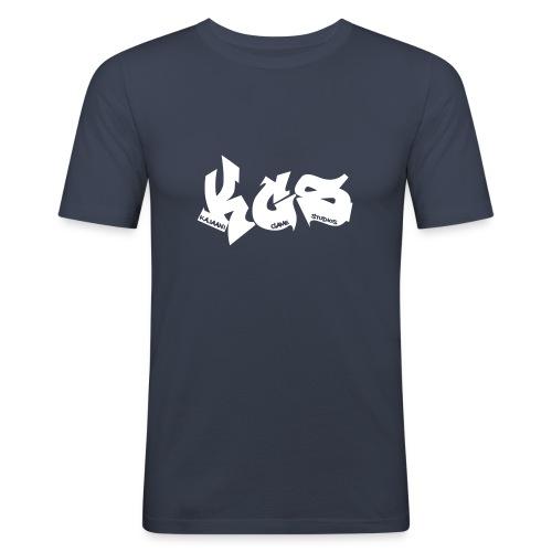 KGS Jungle Race t-paita - Miesten tyköistuva t-paita