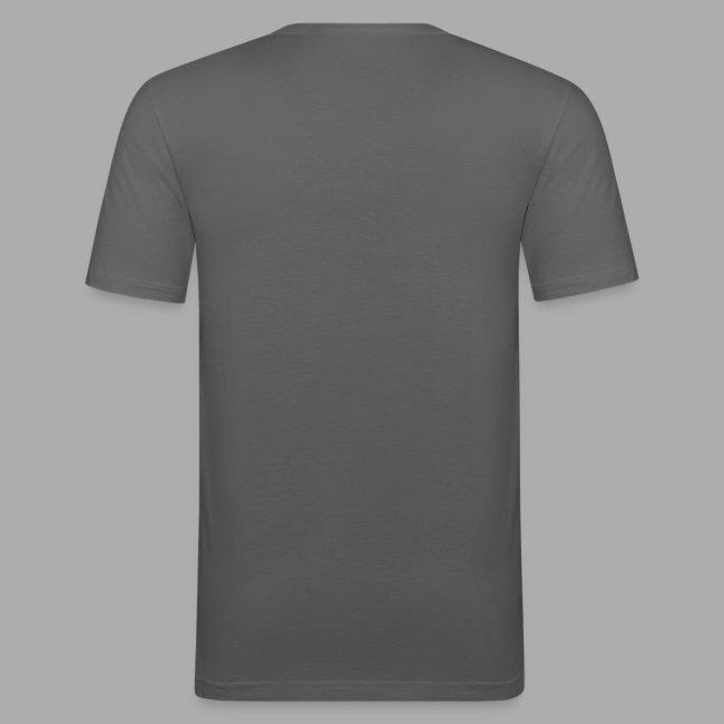 Click Me Slim Fit Shirt - Flexdruck weiß