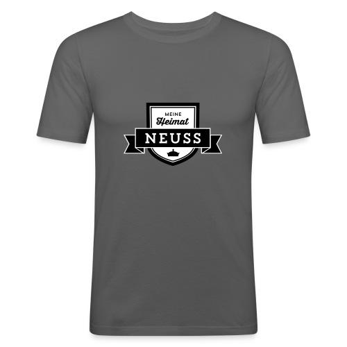 """Meine Heimat """"Neuss"""" T-Shirt - Männer Slim Fit T-Shirt"""