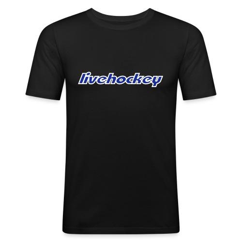LH T-Shirt Herr Slimfit Singeltryck - Slim Fit T-shirt herr