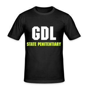 GDL STATE PENITENTIARY - Men's Slim Fit T-Shirt