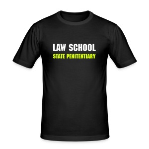 LAW SCHOOL STATE PENITENTIARY - Men's Slim Fit T-Shirt