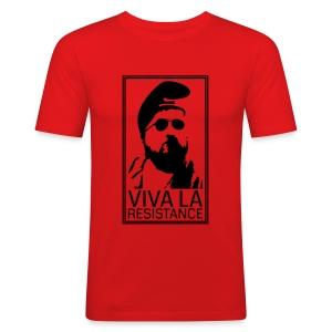 Viva La Resistance Men SlimFit - Männer Slim Fit T-Shirt