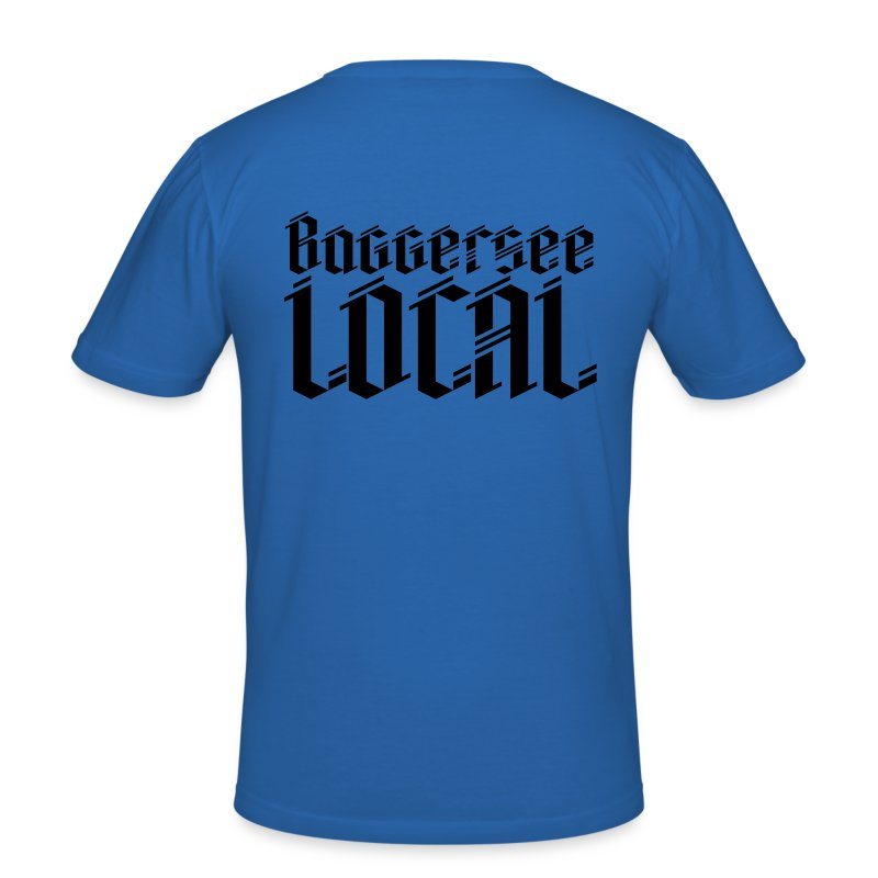 Baggersee Local - Männer Slim Fit T-Shirt