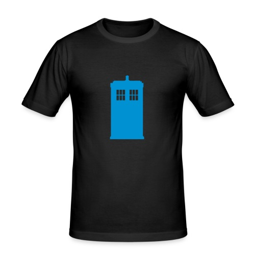 Police box - Tee shirt près du corps Homme