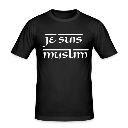 JESUISME: MUSLIM 1 - slim fit T-shirt