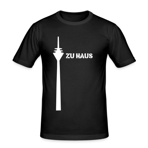 zu haus - Männer Slim Fit T-Shirt
