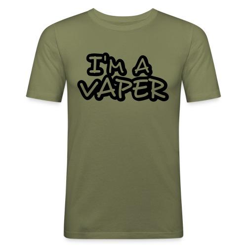 I'm a vaper - T-shirt près du corps Homme