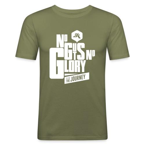 NGNG: WHITE / K Green - Men's Slim Fit T-Shirt