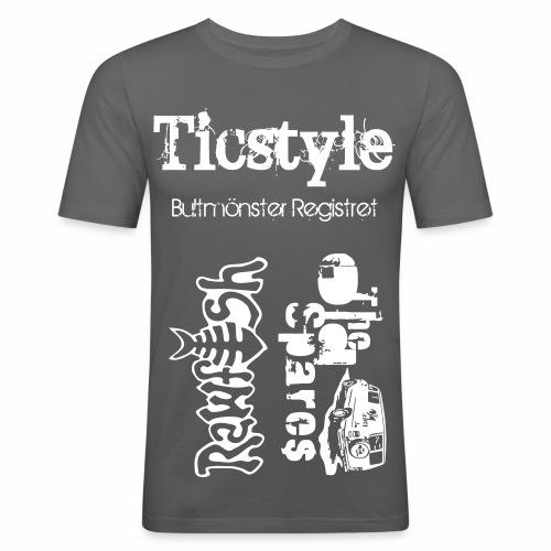 Support Tisha - Slim Fit T-shirt herr