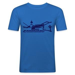 Schmirn Kirche - Männer Slim Fit T-Shirt