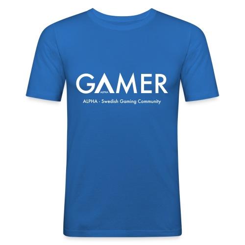 GAMER - Slim Fit T-shirt herr