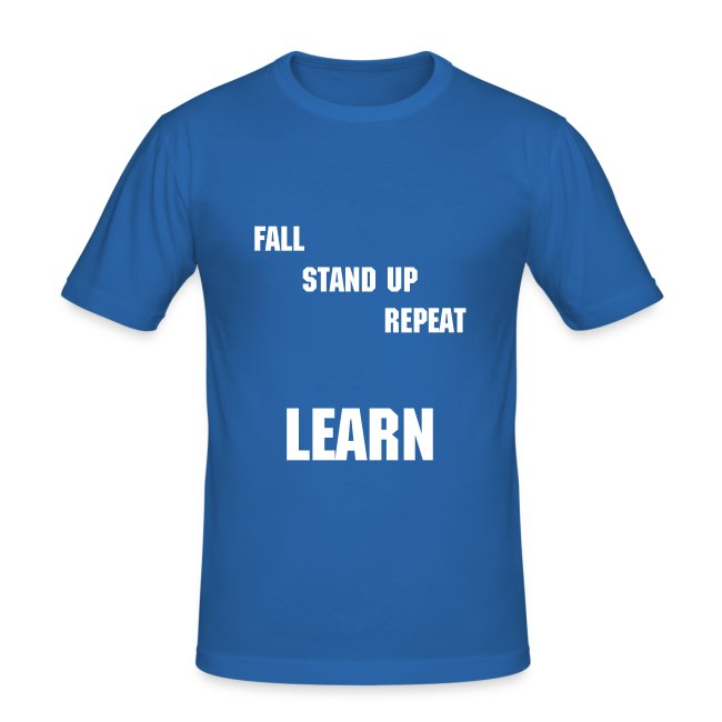 fall standup repeat learn