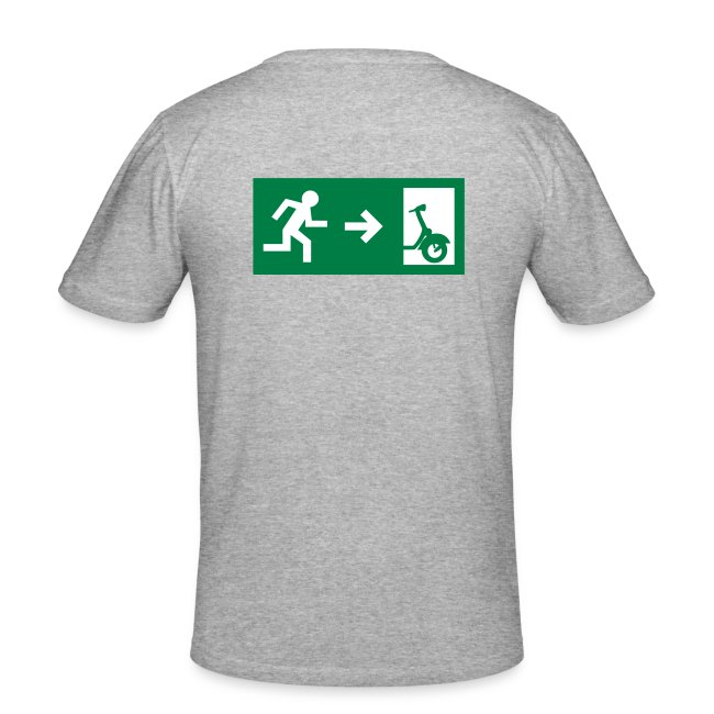 """Männer """"Notaufgang"""" T-Shirt"""