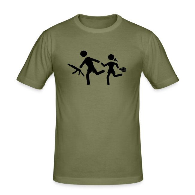Anti child soldier T shirt