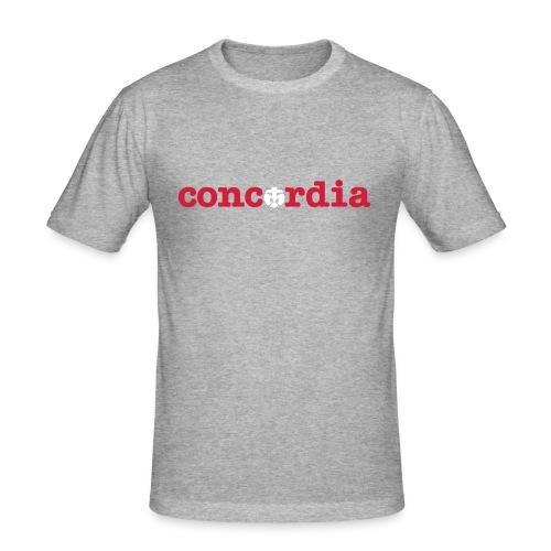 concordia T-Shirt - Männer Slim Fit T-Shirt