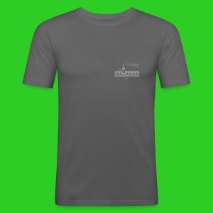 Leipzig altes Rathaus - Männer Slim Fit T-Shirt