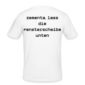 Zementa - Männer Slim Fit T-Shirt