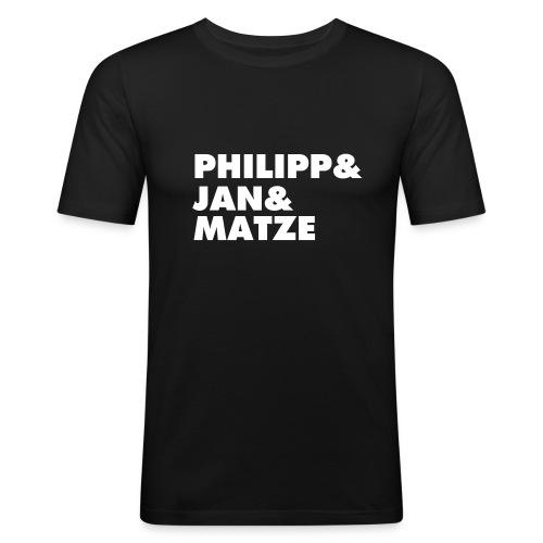 PHILIPP&JAN&MATZE - Männer Slim Fit T-Shirt