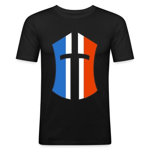 """T-SHIRT BoN """"FRANCE"""" verso - T-shirt près du corps Homme"""