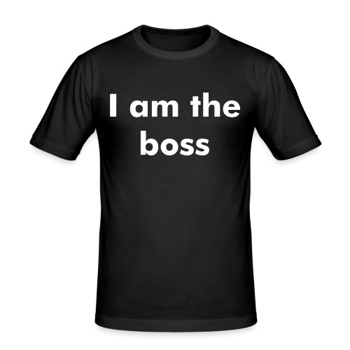 T-shirt homme the boss - T-shirt près du corps Homme