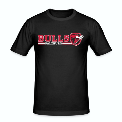 Salzburg Bulls Slim Fit T-Shirt - Männer Slim Fit T-Shirt