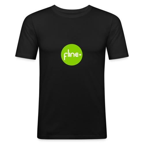 Slimfit Männer Logo grün - Männer Slim Fit T-Shirt