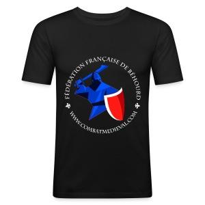 T-shirt Fédération Française de Béhourd - Tee shirt près du corps Homme