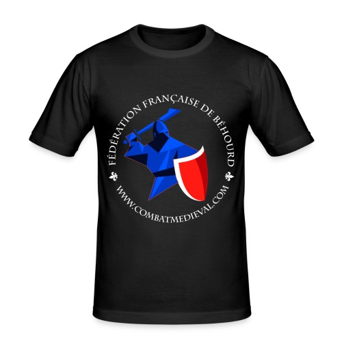 T-shirt Fédération Française de Béhourd - T-shirt près du corps Homme