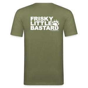 Frisky kaki (slim fit) - Men's Slim Fit T-Shirt