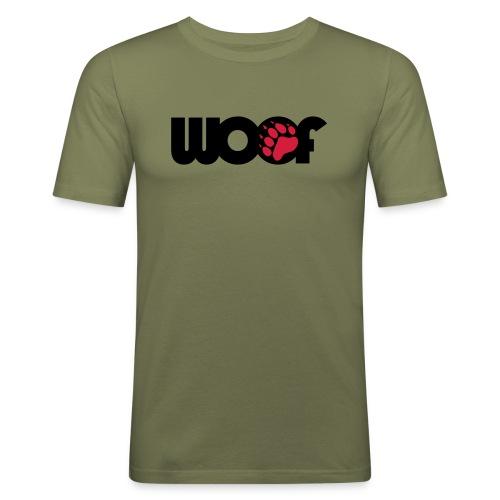 woof (slim fit) - Men's Slim Fit T-Shirt
