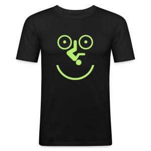Happy Cyclist - Men's Slim Fit T-Shirt