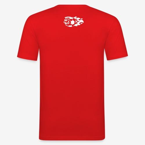 Men's slim fit t-shirt red - Men's Slim Fit T-Shirt