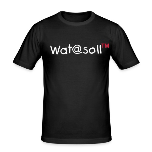 Wat@soll™ Slim Red - Männer Slim Fit T-Shirt