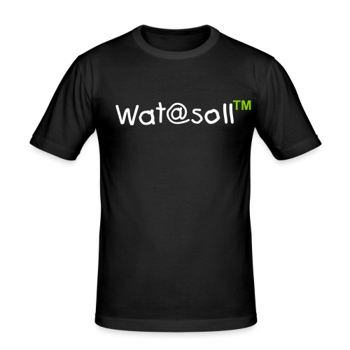 Wat@soll™ Slim Apple Green - Männer Slim Fit T-Shirt