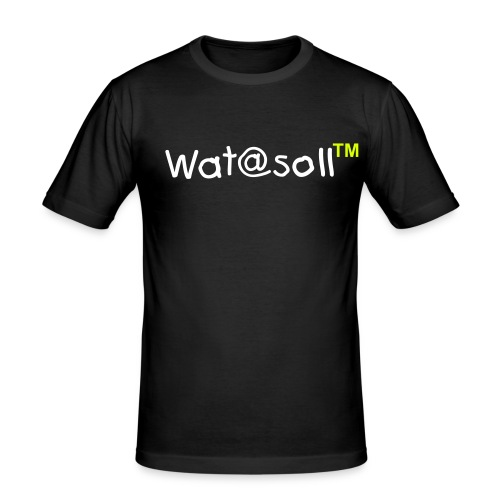 Wat@soll™ Slim Yellow - Männer Slim Fit T-Shirt