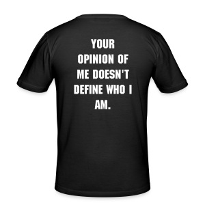 Your opinion - Tee shirt près du corps Homme