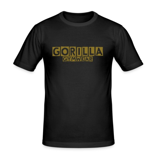 Gorilla Gymwear Original - Men's Slim Fit T-Shirt