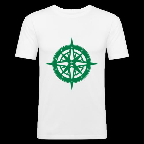 kommpass // jungs - Männer Slim Fit T-Shirt