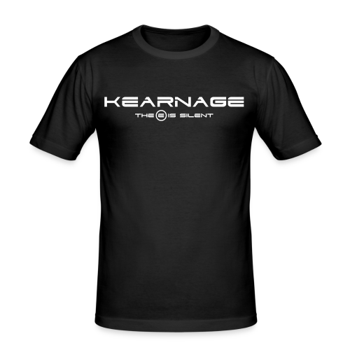 KEARNAGE The E Is Silent Slim Fit T-Shirt (Male) - Men's Slim Fit T-Shirt