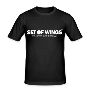 SET OF WINGS (Unisex) - Men's Slim Fit T-Shirt