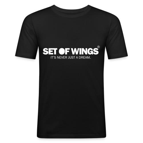 SET OF WINGS (Unisex) - Men's Slim Fit T-Shirt