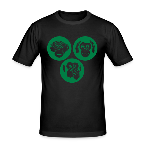 Monkey Business - Grönsak - Men's Slim Fit T-Shirt