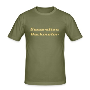 Generation Heckmotor - Männer Slim Fit T-Shirt