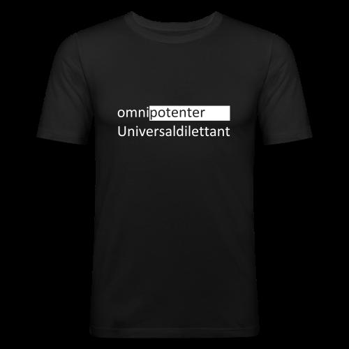 Männer Slim Fit T-Shirt - Allmächtiger Nichtskönner
