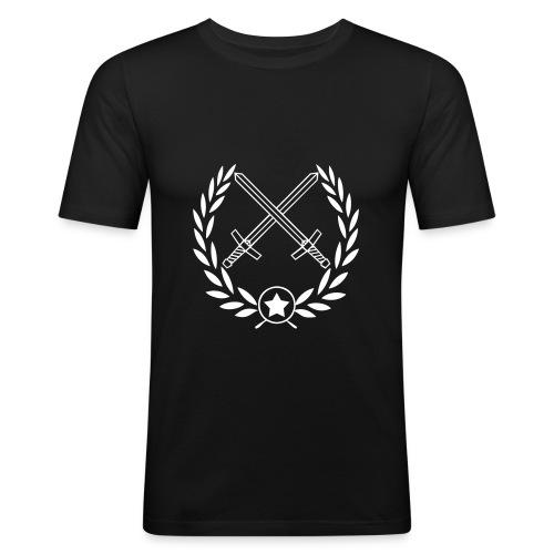 Slim fit T-shirt - Slim Fit T-shirt herr